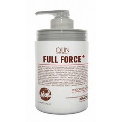 Ollin Professional Full Force Intensive Restoring Mask With Coconut Oil - Интенсивная восстанавливающая маска с маслом кокоса, 650 мл.
