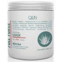 Ollin Professional Full Force Moisturizing Mask With Aloe Extract - Увлажняющая маска с алоэ, 250 мл.