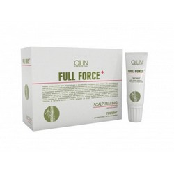 Ollin Professional Full Force Scalp Peeling With Bamboo Extract - Пилинг для кожи головы с бамбуком, 10шт, 15 мл.
