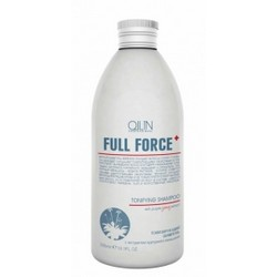 Ollin Professional Full Force Tonifying Shampoo With Purple Ginseng Extract - Тонизирующий шампунь, 300 мл.