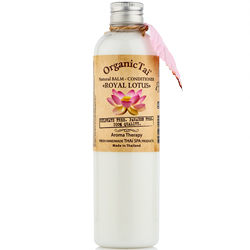Organic Tai Natural Balm-Conditioner Royal Lotus - Бальзам-кондиционер для волос с экстрактом лотоса, 260 мл