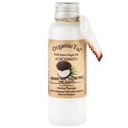 Organic Tai Pure Extra Virgin Oil Coconut - Чистое базовое масло кокоса холодного отжима, 120 мл