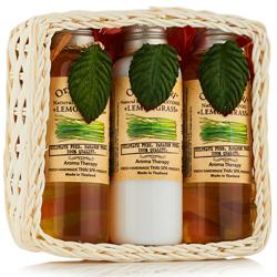 Organic Tai Set Lemongrass - Набор по уходу за волосами и телом с экстрактом лемонграсса, 120*3 шт