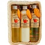 Organic Tai Set Mandarin - Набор по уходу за волосами и телом с экстрактом мандарина, 260*3 шт
