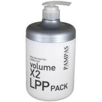 Pampas Volume X2 LPP Hair Pack - Маска восстанавливающая для волос, 1000 млPampas Volume X2 LPP Hair Pack - Маска восстанавливающая для волос, 1000 мл купить по низкой цене с доставкой по Москве и регионам в интернет-магазине ProfessionalHair.<br>