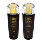 Greymy Shine Shampoo + Greymy Shine Conditioner - Набор Шампунь для блеска + Кондиционер для блеска 2*200 мл