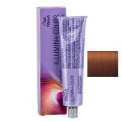 Wella Professionals Illumina Color - Стойкая крем-краска 7/43 Блонд красно - золотистый 60 мл