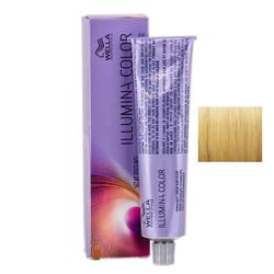 Wella Professionals Illumina Color - Стойкая крем-краска 10/38 Яркий блонд золотисто-жемчужный 60 мл