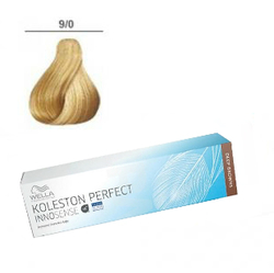 Wella Professionals Koleston Perfect Innosense - Стойкая крем-краска 9/0 Очень светлый блонд 60 мл