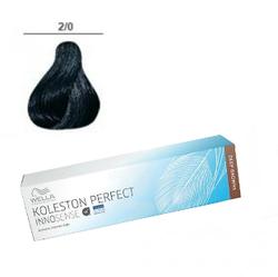 Wella Professionals Koleston Perfect Innosense - Стойкая крем-краска 2/0 Черный 60 мл