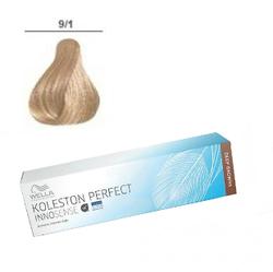 Wella Professionals Koleston Perfect Innosense - Стойкая крем-краска 9/1 Очень светлый блонд пепельный 60 мл