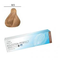 Wella Professionals Koleston Perfect Innosense - Стойкая крем-краска 8/3 Светлый блонд золотистый 60 мл