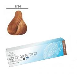 Wella Professionals Koleston Perfect Innosense - Стойкая крем-краска 8/34 Светлый блонд золотисто-красный 60 мл