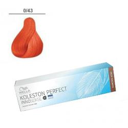 Wella Professionals Koleston Perfect Innosense - Стойкая крем-краска 0/43 Красно-золотистый 60 мл
