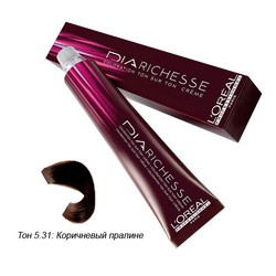 L'Oreal Professionnel Diarichesse - Краска для волос Диаришесс 5.31 Коричневый пралине 50 мл