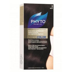 Phytosolba Phyto Color - Краска для волос, Брюнет 2