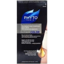 Phytosolba Phyto Color - Краска для волос, Черный 1