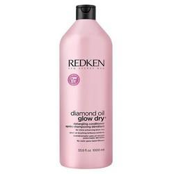 Redken Diamond Oil Glow Dry - Кондиционер для легкости расчесывания волос, 1000 мл