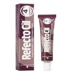RefectoCil - Краска для бровей и ресниц № 4 Каштан 15 мл