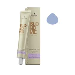 Schwarzkopf BlondMe - Осветляющий крем для волос сталь 60 мл