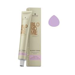 Schwarzkopf BlondMe - Тонирующий крем для волос сирень 60 мл