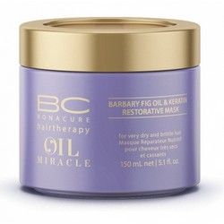 Schwarzkopf Bonacure Hairtherapy Oil Miracle Barbary Fig Oil&Keratin Restorative Mask - Маска восстанавливающая для волос, 150 мл.