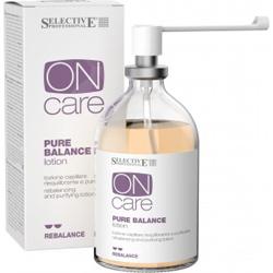 Selective On Care Rebalance Pure Balance lotion - Лосьон балансирующий, для раздраженной или жирной кожи головы, 100 мл