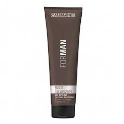 Selective Professional For Man Back to Brown – Гель для укладки волос со смываемым каштановым пигментом 150 мл