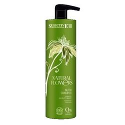 Selective Professional Nutri Shampoo - Шампунь питательный для восстановления волос, 1000 мл.