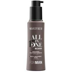 Selective Professional All In One Beard Shampoo - Многофункциональный шампунь для бороды, 100 мл