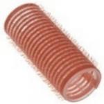 Sibel, 4122649 - Бигуди на липучке розовые 24 мм, 12 шт