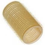 Sibel, 4123549 - Бигуди на липучке желтые 32 мм, 12 шт