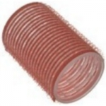 Sibel, 4165049 - Бигуди на липучке розовые 43 мм, 6 шт