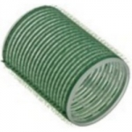 Sibel, 4165549 - Бигуди на липучке зеленые 48 мм, 6 шт