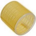 Sibel, 4167049 - Бигуди на липучке желтые 66 мм, 6 шт