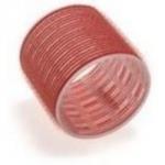 Sibel, 4167549 - Бигуди на липучке красные 70 мм, 6 шт