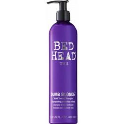 Tigi Bed Head Dumb Blonde Purple Toning Shampoo - Шампунь-корректор для светлых и осветленных волос, 400 мл.