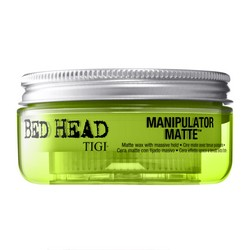 Tigi Bed Head Manipulator Matte Wax With Massive Hold - Воск матовый сильной фиксации с ароматом яблока, 57,5 г.