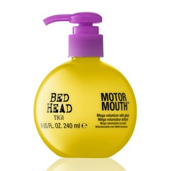 Tigi Bed Head Motor Mouth Mega Volumizer With Gloss Ulta - Крем для укладки для объема и блеска, 240 мл.