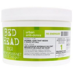 Tigi Bed Head Urban Antidotes Re-Energize Treatment Mask - Маска для нормальных волос, 200 мл.