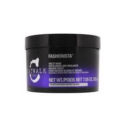 Tigi Catwalk Fashionista Violet Mask - Маска для коррекции цвета осветленных волос, 200 мл.