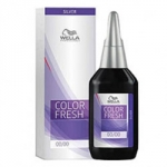Wella Color Fresh Silver - Оттеночная краска, тон 7.74 блонд коричнево-красный, 75 мл.