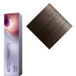 Wella Illumina Color - Крем-краска 6-19, темный блонд, пепельный сандре, 60 мл.